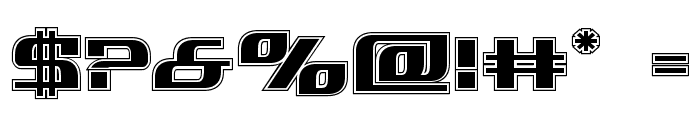 Infinity Formula Academy Font OTHER CHARS