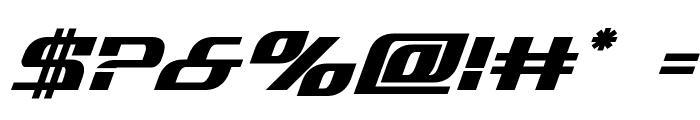 Infinity Formula Bold Italic Font OTHER CHARS