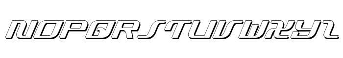 Infinity Formula Shadow Ital Font UPPERCASE