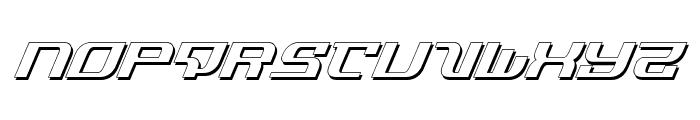 Infinity Formula Shadow Ital Font LOWERCASE