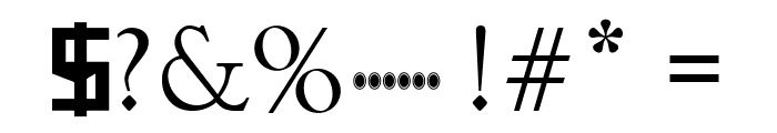 Infinity Gauntlet Font OTHER CHARS