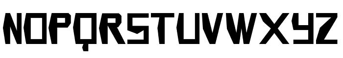 Infinity Gauntlet Font LOWERCASE