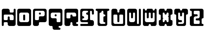 Infix Regular Font UPPERCASE