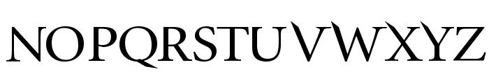 InfraRed Font UPPERCASE