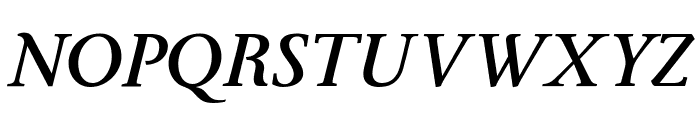 Ingleby Bold Italic Font UPPERCASE