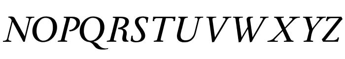 Ingleby Italic Italic Font UPPERCASE
