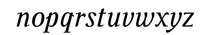 Ingleby Italic Italic Font LOWERCASE