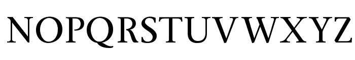 Ingleby Regular Font UPPERCASE