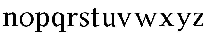 Ingleby Regular Font LOWERCASE