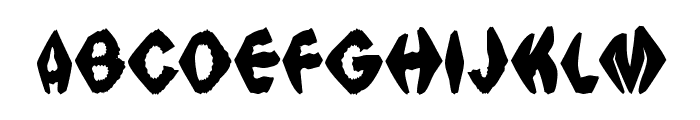 Ingothical Weird Solid Font UPPERCASE