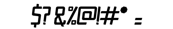 Ingrata Italic Font OTHER CHARS