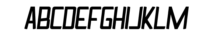 Ingrata Italic Font UPPERCASE
