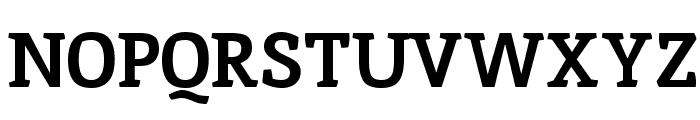Inika Bold Font UPPERCASE