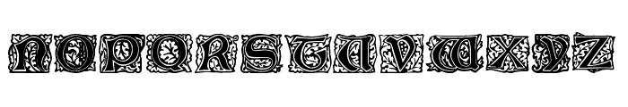 Initial Caps Font UPPERCASE
