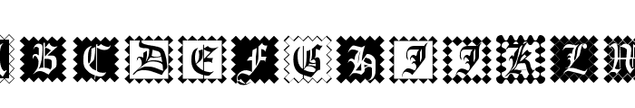 InitialenFramedMK Font UPPERCASE