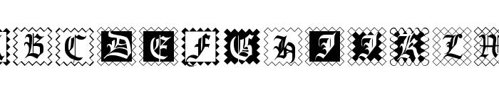 InitialenFramedMK Font LOWERCASE