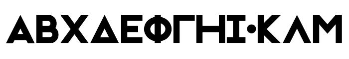 Initiation Ritual GRK Font LOWERCASE