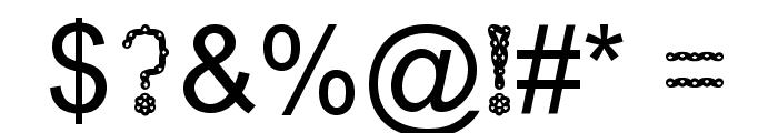 Injancromvela150 Font OTHER CHARS