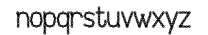 Injancromvela150 Font LOWERCASE