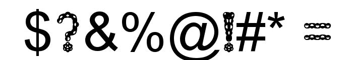 Injancromvela222 Font OTHER CHARS