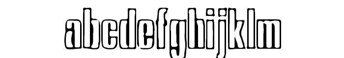 Ink Tank [BRK] Font LOWERCASE