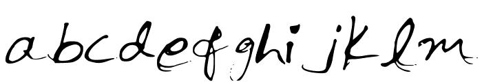 InkPen Font LOWERCASE