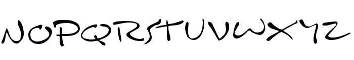 Inkburrow Font UPPERCASE