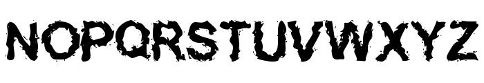 Inked    weird Font UPPERCASE