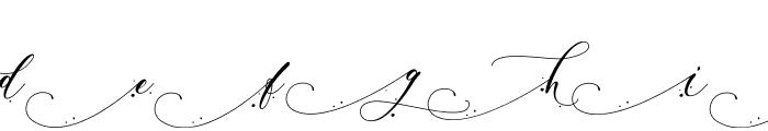 Inkland Font UPPERCASE