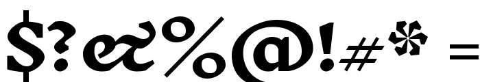 Inknut Antiqua Bold Font OTHER CHARS