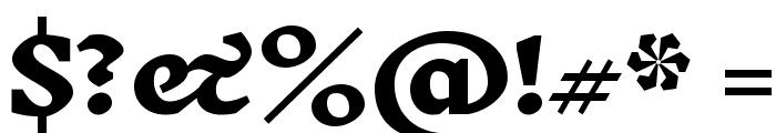 Inknut Antiqua ExtraBold Font OTHER CHARS