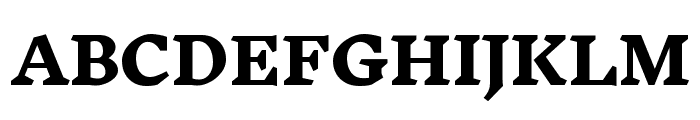 Inknut Antiqua ExtraBold Font UPPERCASE