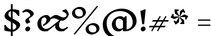 Inknut Antiqua Medium Font OTHER CHARS