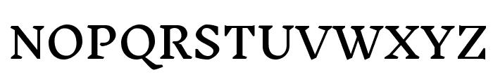 Inknut Antiqua Medium Font UPPERCASE