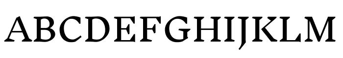 Inknut Antiqua Regular Font UPPERCASE