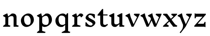 Inknut Antiqua Regular Font LOWERCASE