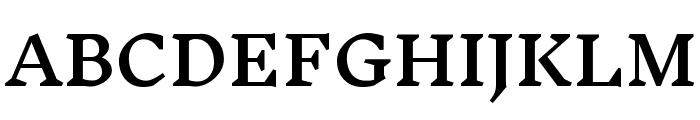 Inknut Antiqua SemiBold Font UPPERCASE