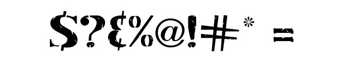 Inkpad Regular Font OTHER CHARS