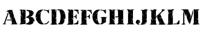 Inkpad Regular Font UPPERCASE