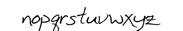 Inkpen Scribble Font LOWERCASE
