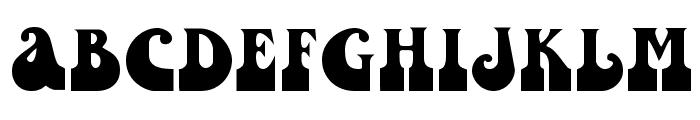 Inkwell [Plain]:001.001 Font UPPERCASE