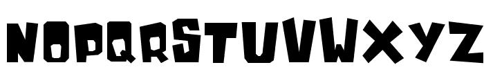 InkyBear Font UPPERCASE
