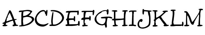 InkyDoo_Serif_TRIAL Font UPPERCASE