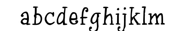 InkyDoo_Serif_TRIAL Font LOWERCASE