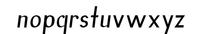 Inn Font LOWERCASE