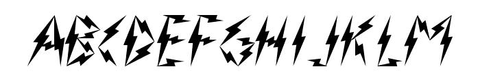 Inner Flasher Version 2.0 Font UPPERCASE