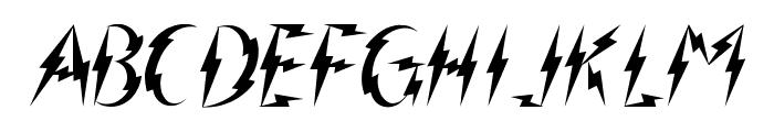 Inner Flasher Font UPPERCASE