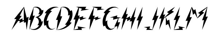 Inner Flasher Font LOWERCASE