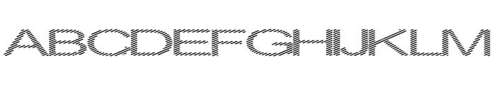 Inningham spread Font UPPERCASE