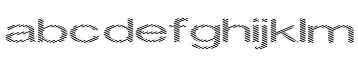 Inningham spread Font LOWERCASE
